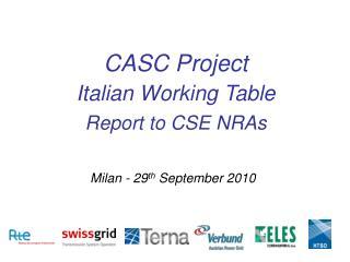 Milan - 29 th  September 2010