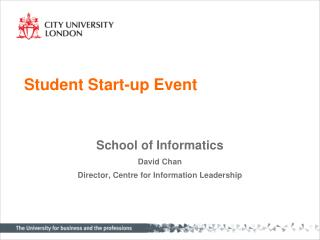 Student Start-up Event