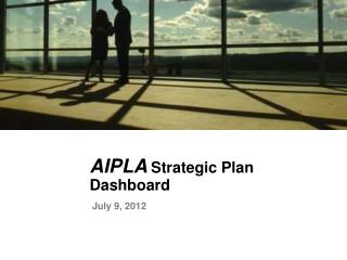 AIPLA Strategic Plan Dashboard