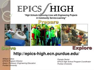 """High Schools Improving Lives with Engineering Projects  in Community Service-Learning"""