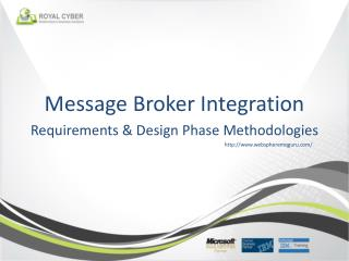 Message Broker Integration