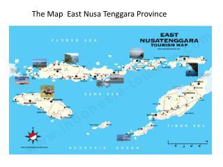 The Map  East Nusa Tenggara Province