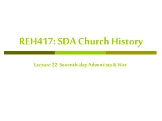 reh417: sda church history
