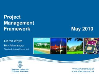 Project Management  Framework	 		             May 2010