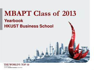 MBAPT Class of 2013