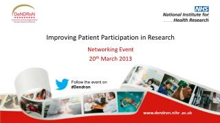 Improving Patient Participation in Research
