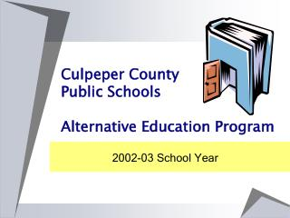 culpeper county public schools  alternative education program