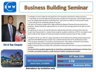 Business Building Seminar