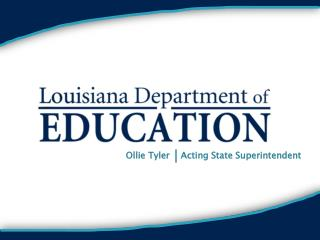 Ollie Tyler    Acting State Superintendent