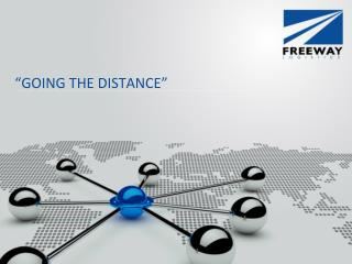 �GOING THE DISTANCE�