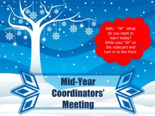 Mid-Year Coordinators' Meeting