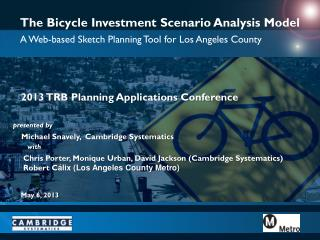The Bicycle Investment Scenario Analysis Model