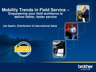 Mobility Trends in Field Service –