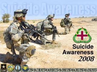 suicide awareness 2008