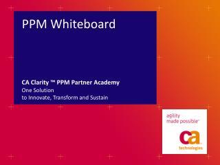 PPM Whiteboard