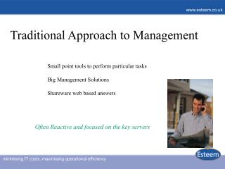 Traditional Approach to Management