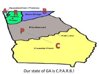 Our state of GA is C.P.A.R.B.!