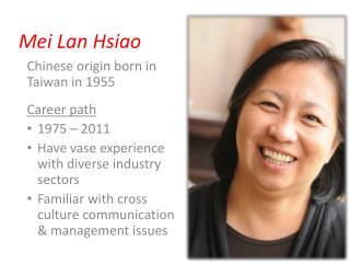 Mei Lan Hsiao