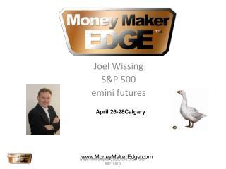Joel Wissing S&P 500  emini futures
