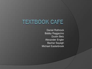 Textbook Cafe