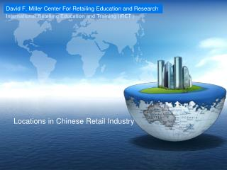 Locations in Chinese Retail Industry