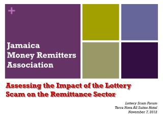 Jamaica  Money Remitters Association
