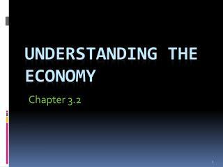 Understanding the economy