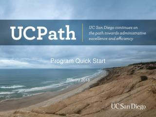 Program Quick Start