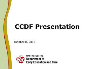 CCDF Presentation