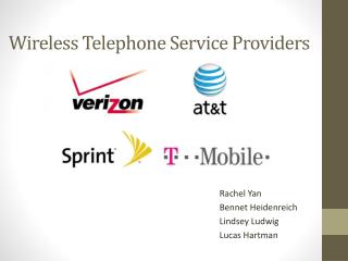Wireless Telephone Service Providers