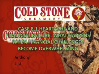 Case 8.1 Heartache and Financial Failure: What Happens When Financial Challenges Become Overwhelming