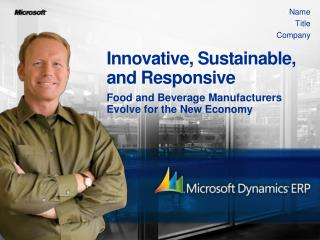 Innovative, Sustainable, and Responsive