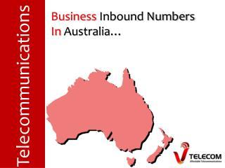 Business  Inbound Numbers  In  Australia…