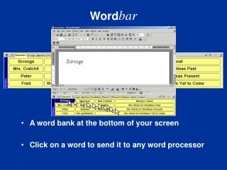 wordbar