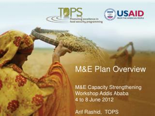 M&E Plan Overview