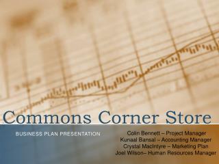 Commons Corner Store