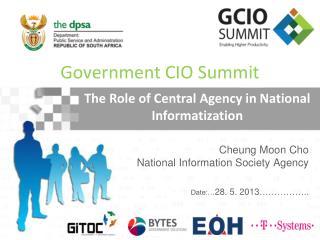 Cheung Moon Cho  National Information Society Agency