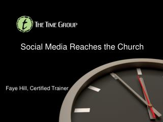 Social Media Reaches the Church