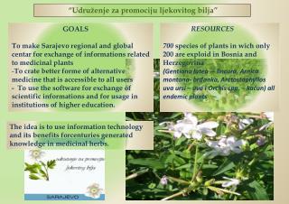 �Udru�enje za promociju ljekovitog bilja�