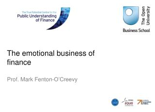 The emotional business of finance