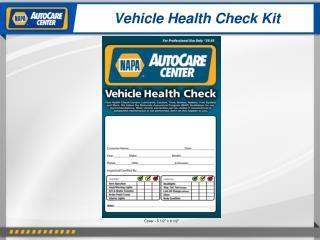 Vehicle Health Check Kit