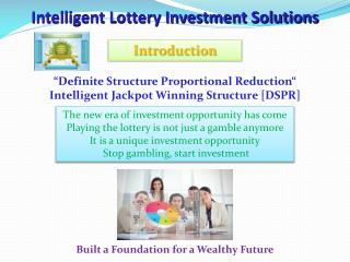 Intelligent Lottery Investment Solutions