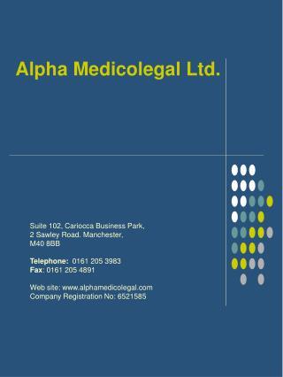 alpha medicolegal ltd.
