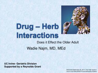 Drug � Herb Interactions