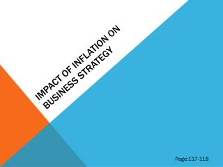 IMPACT OF INFLATION ON BUSINESS STRATEGY
