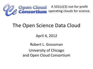 The Open Science Data Cloud