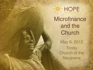 Microfinance and the Church