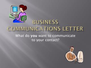 Business communications letter