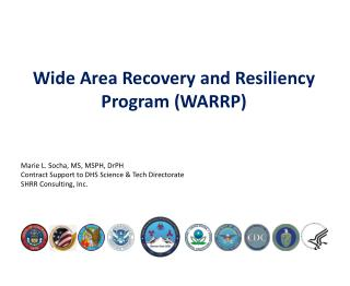 Wide  Area Recovery and Resiliency Program (WARRP)