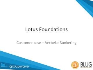 Lotus Foundations